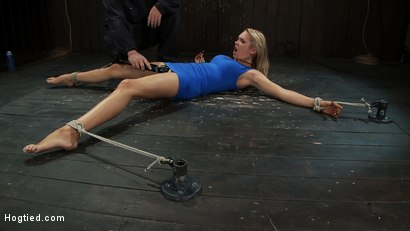 Photo number 3 from Never in the history of Kink has anything like this been attempted!<br>Complete Orgasms destruction! shot for Hogtied on Kink.com. Featuring Rain DeGrey and Isis Love in hardcore BDSM & Fetish porn.