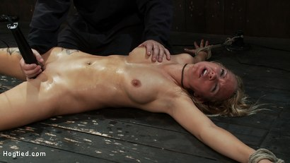 Photo number 11 from When you make someone cum over and over for over 1/2 hour<br> this becomes the face of ecstasy  shot for Hogtied on Kink.com. Featuring Rain DeGrey and Isis Love in hardcore BDSM & Fetish porn.