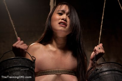 Photo number 6 from The Training of Madeleine , Day One shot for The Training Of O on Kink.com. Featuring Madeleine Mei and Mark Davis in hardcore BDSM & Fetish porn.