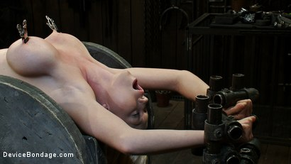 Photo number 6 from Boob Spool shot for Device Bondage on Kink.com. Featuring Madison Scott in hardcore BDSM & Fetish porn.