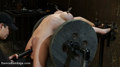 Photo number 7 from Boob Spool shot for Device Bondage on Kink.com. Featuring Madison Scott in hardcore BDSM & Fetish porn.