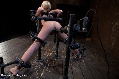 Photo number 1 from Insatiable Cunt shot for Device Bondage on Kink.com. Featuring Madison Scott in hardcore BDSM & Fetish porn.