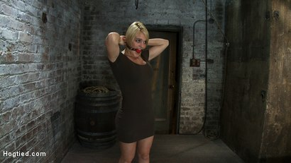 Photo number 1 from Tight is Tight shot for Hogtied on Kink.com. Featuring Krissy Lynn in hardcore BDSM & Fetish porn.