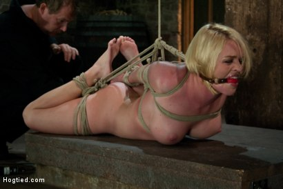 Photo number 15 from Tight is Tight shot for Hogtied on Kink.com. Featuring Krissy Lynn in hardcore BDSM & Fetish porn.