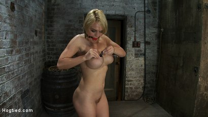 Photo number 3 from Tight is Tight shot for Hogtied on Kink.com. Featuring Krissy Lynn in hardcore BDSM & Fetish porn.