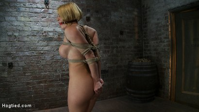 Photo number 6 from Tight is Tight shot for Hogtied on Kink.com. Featuring Krissy Lynn in hardcore BDSM & Fetish porn.