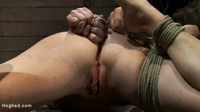 Photo number 9 from Tight is Tight shot for Hogtied on Kink.com. Featuring Krissy Lynn in hardcore BDSM & Fetish porn.