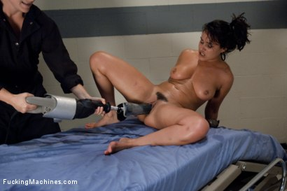 Photo number 14 from Soaring Pussy first into Cum Space <br> The Sybian and The Fucksall never die shot for Fucking Machines on Kink.com. Featuring Charley Chase in hardcore BDSM & Fetish porn.