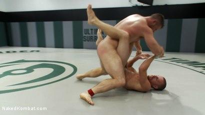 Photo number 6 from Sebastian Keys vs Paul Wagner shot for Naked Kombat on Kink.com. Featuring Sebastian Keys and Paul Wagner in hardcore BDSM & Fetish porn.