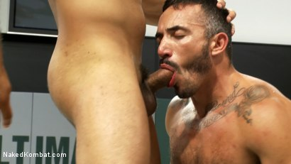 Photo number 12 from Leo Forte vs Alessio Romero shot for Naked Kombat on Kink.com. Featuring Leo Forte and Alessio Romero in hardcore BDSM & Fetish porn.
