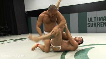 Photo number 4 from Leo Forte vs Alessio Romero shot for Naked Kombat on Kink.com. Featuring Leo Forte and Alessio Romero in hardcore BDSM & Fetish porn.