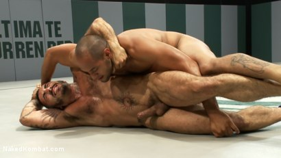 Photo number 6 from Leo Forte vs Alessio Romero shot for Naked Kombat on Kink.com. Featuring Leo Forte and Alessio Romero in hardcore BDSM & Fetish porn.