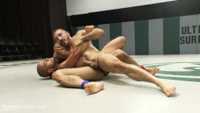 Photo number 8 from Leo Forte vs Alessio Romero shot for Naked Kombat on Kink.com. Featuring Leo Forte and Alessio Romero in hardcore BDSM & Fetish porn.