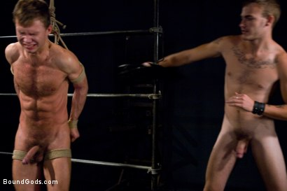 Photo number 10 from Bar Bondage Hookup 2 shot for Bound Gods on Kink.com. Featuring Zach Alexander and Christian Wilde in hardcore BDSM & Fetish porn.