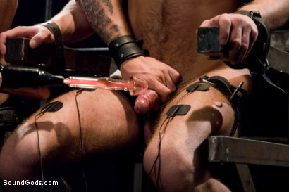 Photo number 7 from Bar Bondage Hookup 2 shot for Bound Gods on Kink.com. Featuring Zach Alexander and Christian Wilde in hardcore BDSM & Fetish porn.