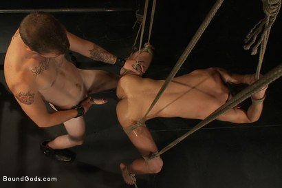 Photo number 12 from Bar Bondage Hookup 2 shot for Bound Gods on Kink.com. Featuring Zach Alexander and Christian Wilde in hardcore BDSM & Fetish porn.