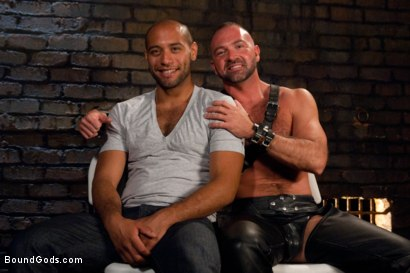 Photo number 15 from Resistance is Futile   shot for Bound Gods on Kink.com. Featuring Leo Forte and Josh West in hardcore BDSM & Fetish porn.