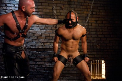 Photo number 9 from Resistance is Futile   shot for Bound Gods on Kink.com. Featuring Leo Forte and Josh West in hardcore BDSM & Fetish porn.