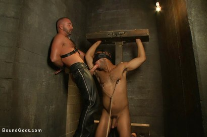 Photo number 10 from Resistance is Futile   shot for Bound Gods on Kink.com. Featuring Leo Forte and Josh West in hardcore BDSM & Fetish porn.