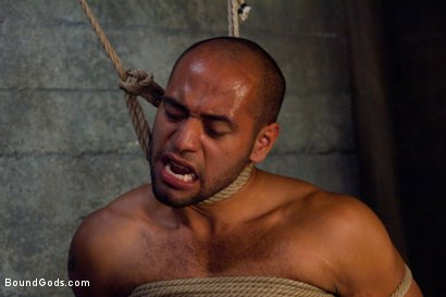 Photo number 6 from Resistance is Futile   shot for Bound Gods on Kink.com. Featuring Leo Forte and Josh West in hardcore BDSM & Fetish porn.