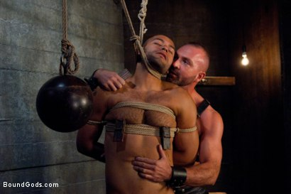 Photo number 7 from Resistance is Futile   shot for Bound Gods on Kink.com. Featuring Leo Forte and Josh West in hardcore BDSM & Fetish porn.