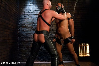 Photo number 8 from Resistance is Futile   shot for Bound Gods on Kink.com. Featuring Leo Forte and Josh West in hardcore BDSM & Fetish porn.