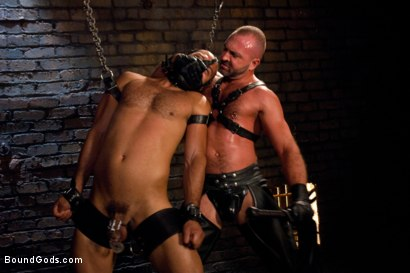 Photo number 2 from Resistance is Futile   shot for Bound Gods on Kink.com. Featuring Leo Forte and Josh West in hardcore BDSM & Fetish porn.
