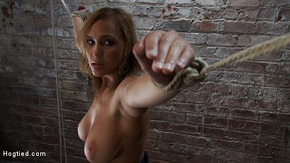 Photo number 11 from 20 Years Old<br> And All Natural. shot for Hogtied on Kink.com. Featuring Alexia Rae in hardcore BDSM & Fetish porn.
