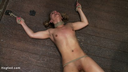Photo number 14 from WHIP OR TICKLE <BR>Jessie hates being tickled more than anything else in the world<br>This was fun! shot for Hogtied on Kink.com. Featuring Jessie Cox in hardcore BDSM & Fetish porn.