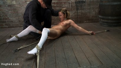 Photo number 8 from WHIP OR TICKLE <BR>Jessie hates being tickled more than anything else in the world<br>This was fun! shot for Hogtied on Kink.com. Featuring Jessie Cox in hardcore BDSM & Fetish porn.