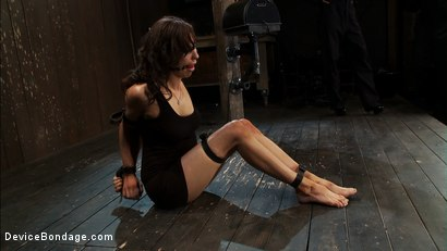Photo number 3 from Part 1 of 4 of the   June live show. shot for Device Bondage on Kink.com. Featuring James Deen, Princess Donna Dolore and Isis Love in hardcore BDSM & Fetish porn.