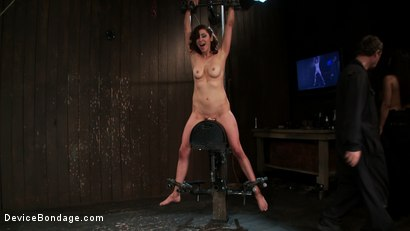 Photo number 4 from Part 1 of 4 of the   June live show. shot for Device Bondage on Kink.com. Featuring James Deen, Princess Donna Dolore and Isis Love in hardcore BDSM & Fetish porn.