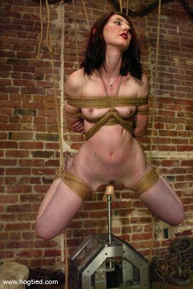 Photo number 13 from Kendra James shot for Hogtied on Kink.com. Featuring Kendra James in hardcore BDSM & Fetish porn.
