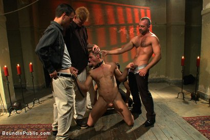 Photo number 4 from Trent Diesel's Ultimate Fantasy shot for Bound in Public on Kink.com. Featuring Josh West and Trent Diesel in hardcore BDSM & Fetish porn.