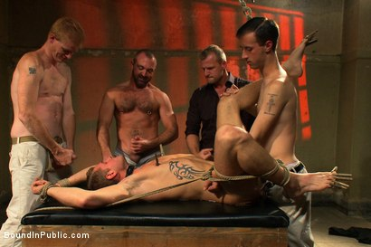 Photo number 9 from Trent Diesel's Ultimate Fantasy shot for Bound in Public on Kink.com. Featuring Josh West and Trent Diesel in hardcore BDSM & Fetish porn.