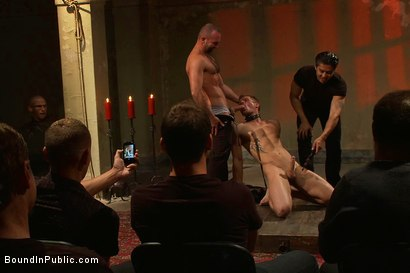 Photo number 7 from Trent Diesel's Ultimate Fantasy shot for Bound in Public on Kink.com. Featuring Josh West and Trent Diesel in hardcore BDSM & Fetish porn.