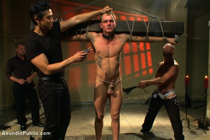 Photo number 5 from Trent Diesel's Ultimate Fantasy shot for Bound in Public on Kink.com. Featuring Josh West and Trent Diesel in hardcore BDSM & Fetish porn.