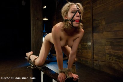 Photo number 9 from Natural Born Submissive shot for Sex And Submission on Kink.com. Featuring James Deen and Lily LaBeau in hardcore BDSM & Fetish porn.