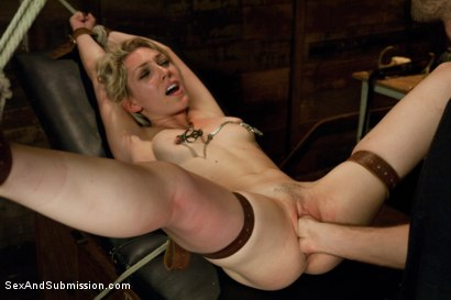 Photo number 12 from Natural Born Submissive shot for Sex And Submission on Kink.com. Featuring James Deen and Lily LaBeau in hardcore BDSM & Fetish porn.