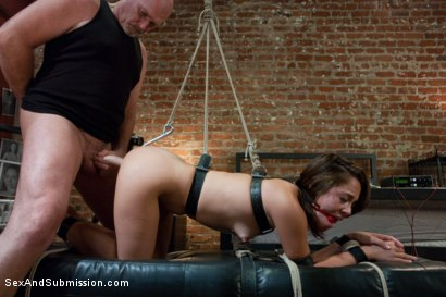 Photo number 11 from The Extorted shot for Sex And Submission on Kink.com. Featuring Mark Davis and Kristina Rose in hardcore BDSM & Fetish porn.