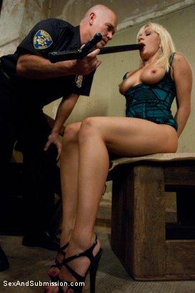 Photo number 5 from Pimp Cop and Hooker shot for Sex And Submission on Kink.com. Featuring Mark Davis and Lea Lexis in hardcore BDSM & Fetish porn.