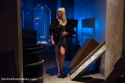 Photo number 1 from Pimp Cop and Hooker shot for Sex And Submission on Kink.com. Featuring Mark Davis and Lea Lexis in hardcore BDSM & Fetish porn.