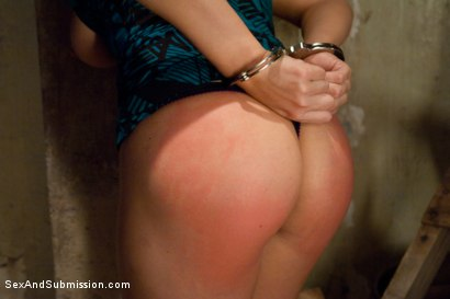 Whipped and verbally humiliated by two hot doms 9