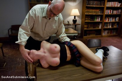 Photo number 2 from Taboo Teaching shot for Sex And Submission on Kink.com. Featuring Mark Davis and Madison Scott in hardcore BDSM & Fetish porn.