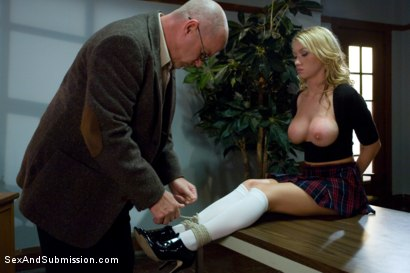 Photo number 1 from Taboo Teaching shot for Sex And Submission on Kink.com. Featuring Mark Davis and Madison Scott in hardcore BDSM & Fetish porn.