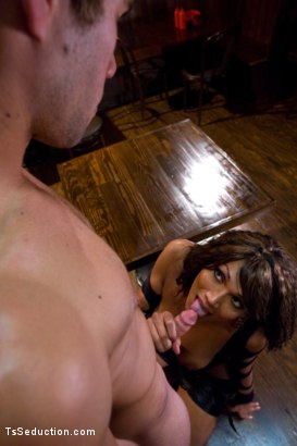 Photo number 4 from TAKING FRAT BOY VIRGINITY shot for TS Seduction on Kink.com. Featuring Yasmin Lee, Koby Fox and Robert Bridges in hardcore BDSM & Fetish porn.