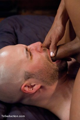 Photo number 9 from Home Invasion  shot for TS Seduction on Kink.com. Featuring Yasmin Lee and David Chase in hardcore BDSM & Fetish porn.