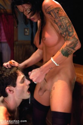Photo number 15 from The Third Date shot for TS Seduction on Kink.com. Featuring Chris Ockham and Morgan Bailey in hardcore BDSM & Fetish porn.