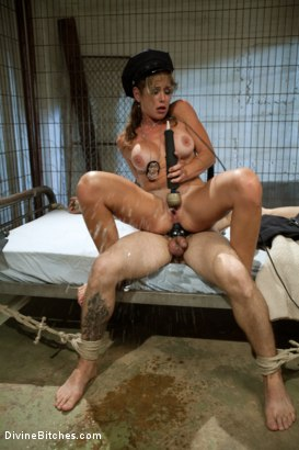 Photo number 14 from Corrupt Bitch Cop shot for Divine Bitches on Kink.com. Featuring Felony and Curt Wooster in hardcore BDSM & Fetish porn.