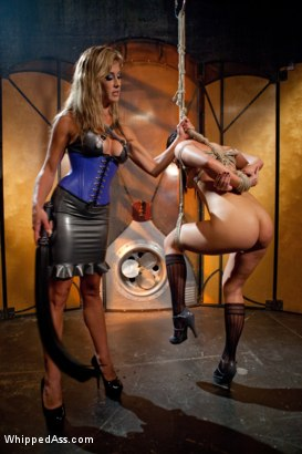 Photo number 1 from Double Penetrated Slut shot for Whipped Ass on Kink.com. Featuring Felony and Ashli  Orion in hardcore BDSM & Fetish porn.